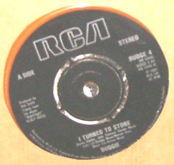 BUDGIE - I Turned To Stone - 7inch x 1