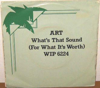 ART - What's That Sound - 7inch x 1