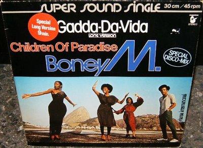 BONEY M - Gadda-Da-Vida - Maxi x 1