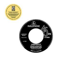 BOEING DUVEEN & THE BEAUTIFUL SOUP - Jabberwock / Which Dreamed It - 7inch x 1